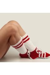 Носки Гетры красные