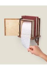 Держатель для туалетной бумаги Полочка с книжками