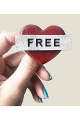 Значок Сердце свободно