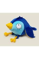 Игрушка Синяя птица на счастье с кармашками для записочек