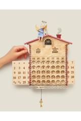 Настенный вечный календарь Кот и Ангел
