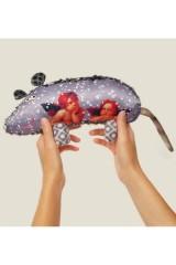 Мягкая игрушка Мышка с ангелами