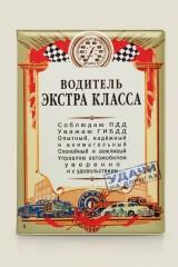 Обложка для автодокументов Водитель экстра Класса