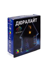 Дюралайт 24 LED МУЛЬТИ (RYGB) 6м Дюралайт LED, свечение с динамикой (3W), 24 LED/м, МУЛЬТИ (RYGB), 6м