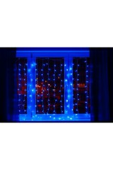 Гирлянда 2x2,5м, диоды Синие Светодиодный Дождь
