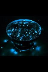 Гирлянда 10 м, 80 LED, цвет Синий Твинкл Лайт