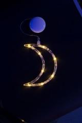Фигура светодиодная на присоске Месяц