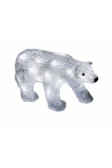 Акриловая светодиодная фигура Медведь