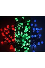 Гирлянда 10 м, 80 диодов, цвет RGB Мультишарики