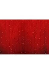 Гирлянда 2х3м, диоды КРАСНЫЕ Светодиодный Дождь