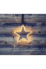 Фигура световая цвет белый Звездочка LED
