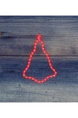 Фигура цвет красный Колокольчик