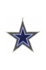 Фигура бархатная, с постоянным свечением Звезда