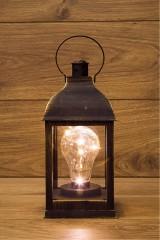 Украшение для интерьера светящееся Фонарь с лампой