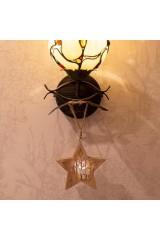 Украшение для интерьера с подсветкой Звездочка