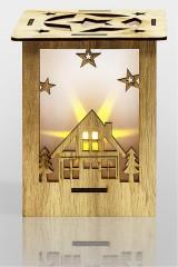 Украшение для интерьера с подсветкой Волшебный фонарик