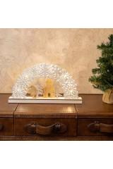Украшение для интерьера с подсветкой Рождественская сказка