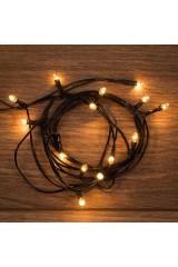 Гирлянда универсальная 20 ламп накаливания Гирлянда универсальная 20 ламп накаливания ТЕПЛЫЙ БЕЛЫЙ 1,8 метра