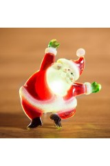 Светодиодная фигурка Санта Клаус