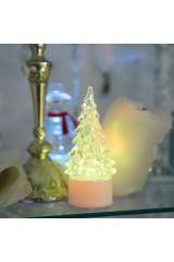 Фигура светодиодная на подставке Елочка маленькая