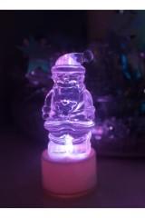 Фигура светодиодная на подставке Санта Клаус