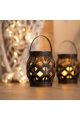 Декоративный фонарь со свечкой Фонарь
