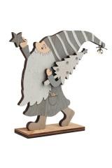 Деревянная фигурка Гномик