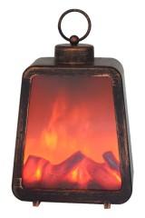 Светодиодный камин Лофт