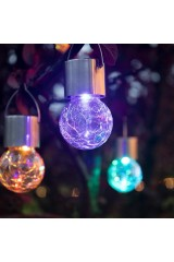 Садовый светильник подвесной на солнечной батарее LAMPER