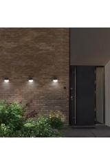 Садовый светильник настенный на солнечной батарее LAMPER