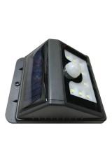 Садовый светильник настенный на солнечной батарее с датчиком движения и освещенности LAMPER