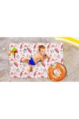Пляжное покрывало детское Пляжная романтика