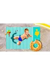 Пляжное покрывало детское Лучший пляж