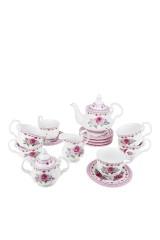 Чайный сервиз Розовый бутон