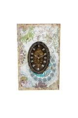 Ключница декоративная с часами Сан-Ремо