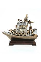 Часы настольные Корабль