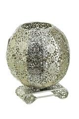 Подсвечник декоративный со стеклянной колбой для свечи Магия востока