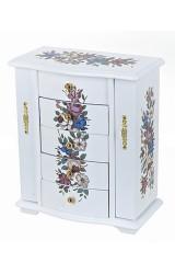 Шкатулка для ювелирных украшений Цветочная гармония
