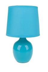 Лампа настольная Европа голубая