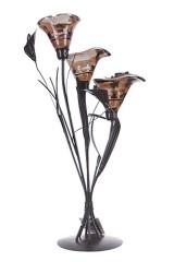 Подсвечник декоративный для 3-х свечей Трио