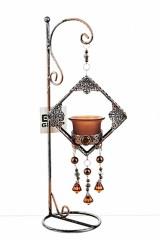 Подсвечник декоративный для 1-й свечи Рококо