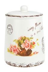 Банка для сыпучих продуктов Персидская роза