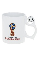 Кружка FIFA World Cup RUSSIA 2018 -  Сувенир к Чемпионату мира по футболу