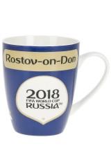 Кружка фарфоровая ЧМ 2018/Rostov-on-Don