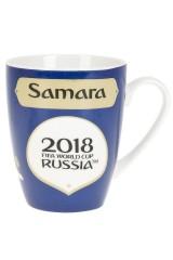 Кружка фарфоровая ЧМ 2018/Samara
