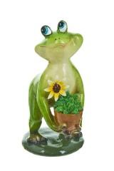 Фигура декоративная для сада Лягушка-квакушка