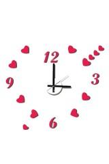 Часы настенные Сердечки