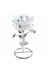 Подсвечник Белый цветок