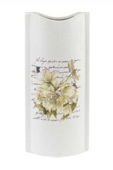 Ваза декоративная Белая лилия