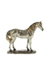 Фигурка декоративная Серый конь